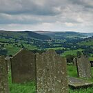 St Chad's churchyard and Nidderdale by WatscapePhoto