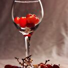 Red Vine Wine by Melody Ricketts