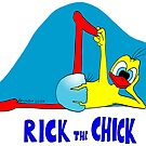 "Rick the chick ""YOGA 12"" by CLAUDIO COSTA"