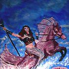Mermaid and Seahorse by GEORGE SANDERSON