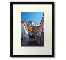 Castle-fortress Framed Print