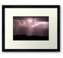 Barrington Storm Framed Print