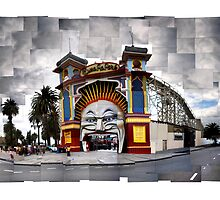 Luna Park, St Kilda: Scattered by thescatteredimage