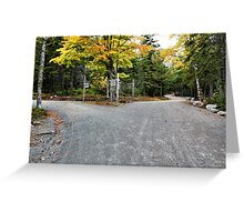 'The Fork in the Road...' Greeting Card