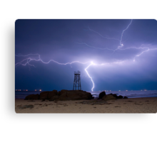 Lightning Blues Canvas Print