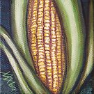 Hopi Corn for Four Directions - Yellow Corn - North by margaret walsh