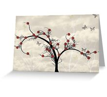 * butterfly tree * Greeting Card