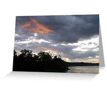 A Sunrise At Point Park Greeting Card