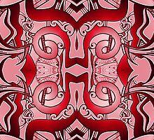 Patterns in Red  by MelDavies