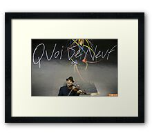 France - Paris 75019 - World's people Framed Print