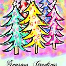 Seasons Greetings by Julie Everhart