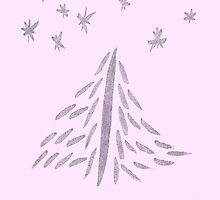 Pinked Xmas Tree by KazM