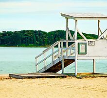 Life Guard Station is Closed by DeerPhotoArts