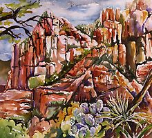 Schnebly Hill - Sedona AZ by Joy Skinner
