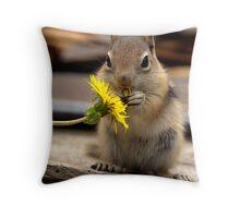 First Dandelion #2 Throw Pillow