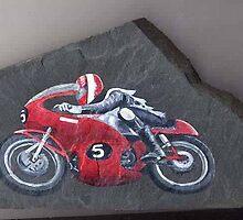Richard Swallow - Manx Grand Prix by petertucker