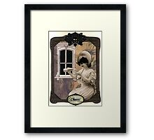 Cheers Birthday Card Framed Print