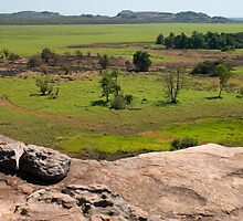 Ubirr rock view, Kakadu NP, NT by Speedy