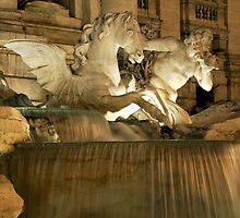 Trevi Fountain  by Erin Kanoa