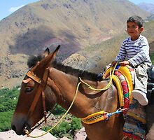Pint sized adventures (Atlas Mountains, Morocco) by Christine Oakley