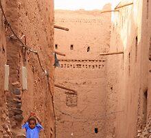 A little blue (Zagora, Morocco) by Christine Oakley