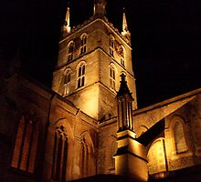 southwark cathedral by charliethetramp