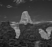 Turret Arch BW by Todd Morton