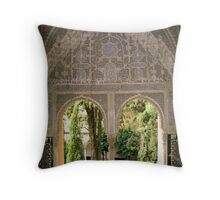 Double Arched Window Throw Pillow