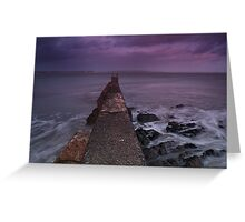 Pier- East Cork Greeting Card
