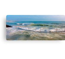 sea curve Canvas Print