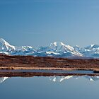 Alaska Range Reflection by Bryan Minnear