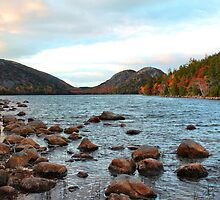 'Jordan Pond and the Bubbles' by Scott Bricker