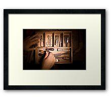 Furniture Maker Stills No. 2 Framed Print