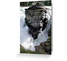 Rock In A Hard Place Greeting Card