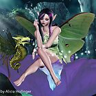 Bad Faerie card by Alicia Hollinger by Alicia Hollinger