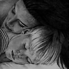 Pencil, Mother & Child by Sara Mormone