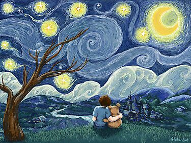 Starry Wishes for Vincent by Lee Anne Kortus