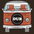 VW Bay Window Orange by FunkyDreadman