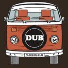 VW Bay Window Orange by FunkyDreadman