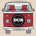 VW Bay Window Red by FunkyDreadman