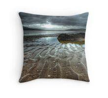 Croc of the Lough (to ya!) Throw Pillow