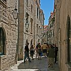 Streets in Dubrovnik by imagic