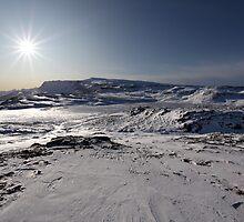Mountaintop morning by Jerry Deutsch