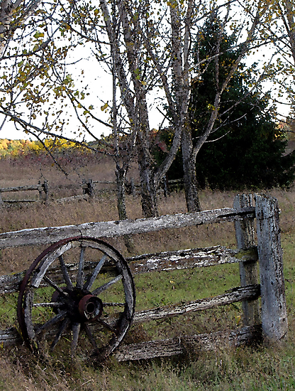 Wagon Wheel by nikspix