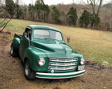 Studebaker Truck: Put Out to Pasture .... &#x27;til the Next Ride by  Bob Hall