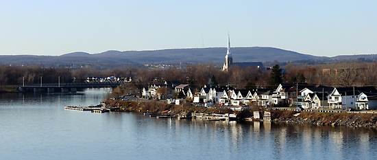 Old Gatineau  by Two Rivers by Max Buchheit
