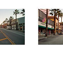Wilshire Boulevard + 3rd Street Promenade, Santa Monica, California, USA...narrowed. by David Yoon