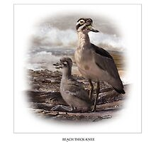 BEACH THICK-KNEE #3 by owen bell