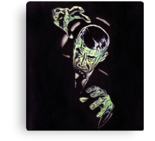 Gruesome Canvas Print