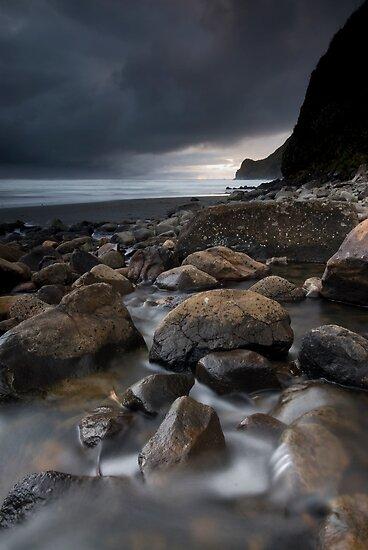 Swann Beach. by Michael Treloar